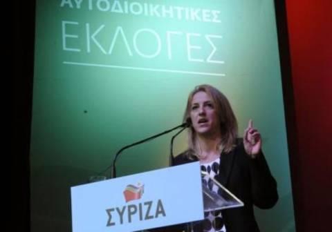 Δούρου: Είμαστε απέναντι στις πολιτικές λιτότητας!