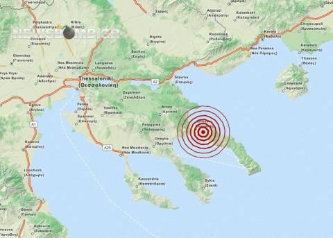 Σεισμός 3,6 Ρίχτερ στην Ουρανούπολη