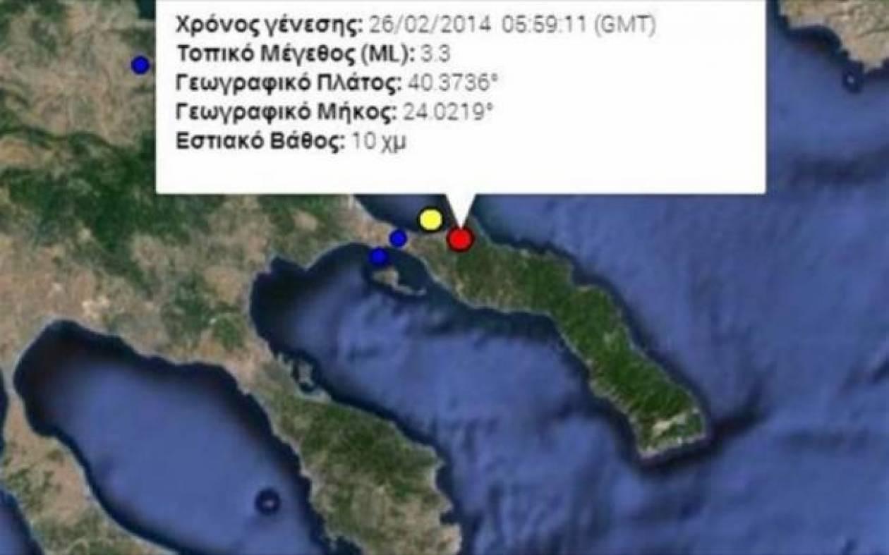 Earthquake in Chalkidiki