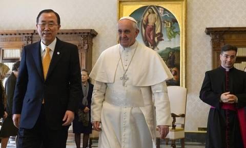 Ο Πάπας και ο Μπαν Κι-μουν, ανησυχούν για την κατάσταση στη Βενεζουέλα