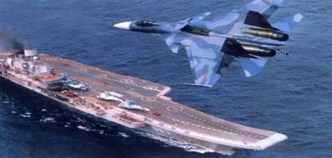 Η Ρωσία έστειλε  αεροπλανοφόρο στη Κύπρο με 3.000 στρατιώτες (βίντεο)
