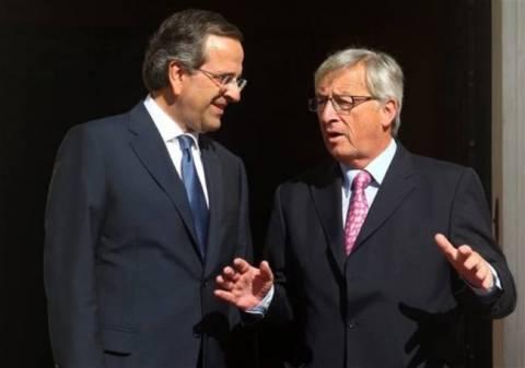 Samaras supports Juncker for European Commission's presidency