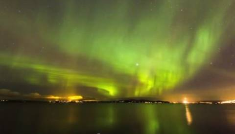 Spectacular: Time-Lapse video of Northern Lights