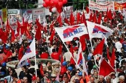 Protest rally against unemployment on March 6