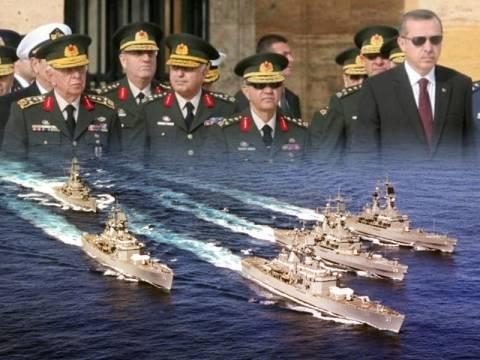 Σκηνικό έντασης στο Αιγαίο ετοιμάζουν οι Τούρκοι στρατηγοί