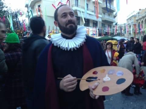Ο Ελ Γκρέκο στο...καρναβάλι!