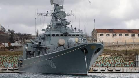 Ρωσία: Αυτομόλησε η ναυαρχίδα του ουκρανικού στόλου