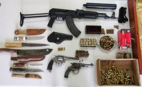 Γιάφκα όπλων εντοπίστηκε στην Κύπρο