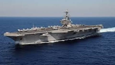 Το «USS George H.W. Bush (CVN-77)» στο Φαληρικό Ορμο