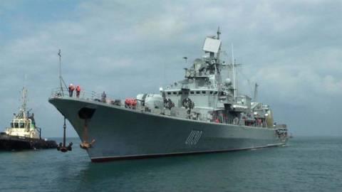 Στην Σούδα η ουκρανική ναυαρχίδα που αυτομόλησε!