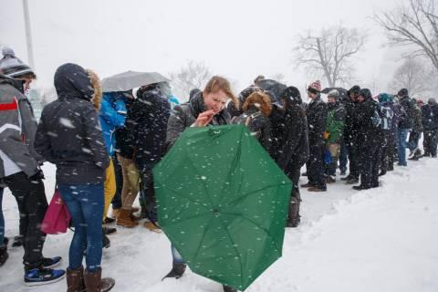ΗΠΑ: Κακοκαιρία με χιόνι και αρκτικό ψύχος χτυπά τις ανατολικές ακτές