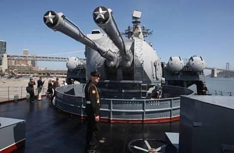 Επιστρέφουν στη βάση τους δύο ρωσικά πολεμικά πλοία