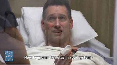 Τι βρήκε ο «γιατρός» στο... παχύ έντερο ασθενή; (βίντεο)