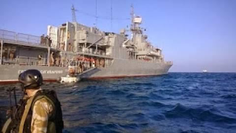 Φεύγει η ναυαρχίδα του Ουκρανικού στόλου από την Σούδα