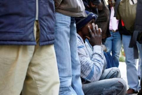Σύλληψη οχτώ παράνομων αλλοδαπών στις Οινούσσες