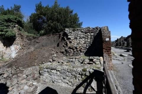 Ιταλία: Έργα 2 εκατ. ευρώ για τη διάσωση της Πομπηίας