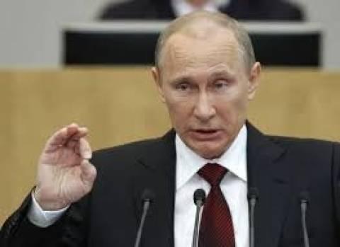 Πούτιν: Δεν επιθυμεί να διαταραχτούν οι σχέσεις με τους εταίρους του