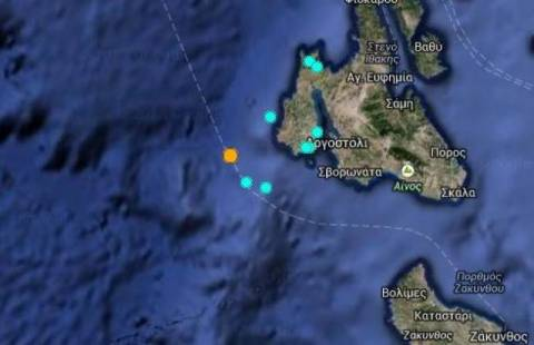 Earthquake 4,7 R in Kefalonia
