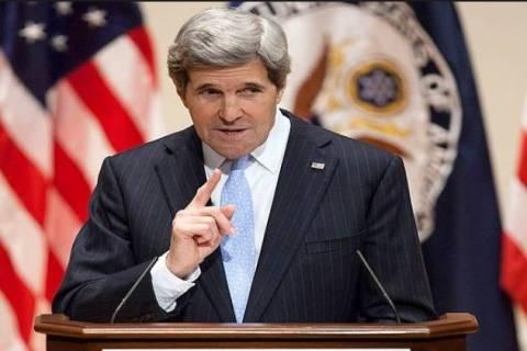 Κέρι: Δεν επιτεύχθηκε καμιά συμφωνία για την Ουκρανία