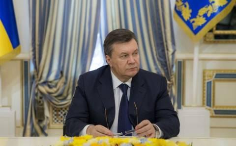 Η ΕΕ δεσμεύει τα περιουσιακά στοιχεία του Γιανουκόβιτς και 18 ατόμων