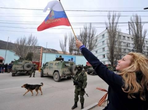 Τι έκαναν οι κάτοικοι της Κριμαίας όταν μπήκε ο ρωσικός στρατός;
