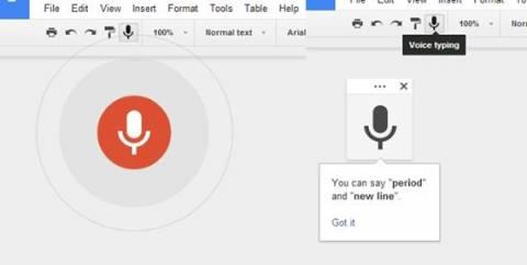 Φωνητική υπαγόρευση στο Google Drive