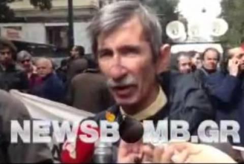 Αγγουράκης στο newsbomb.gr: Καταγγέλουμε με κάθε τρόπο την επίθεση