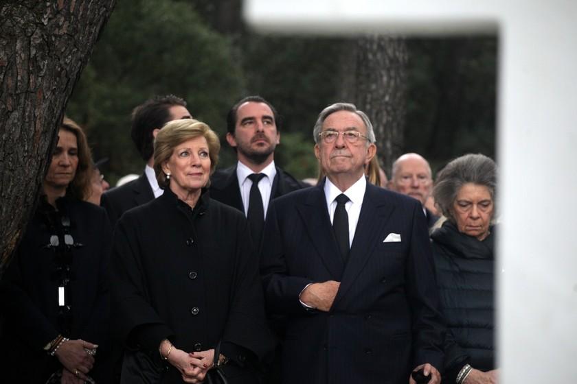 Τα δάκρυα του Κωνσταντίνου Γλίξμπουργκ για τον πατέρα του (pics)