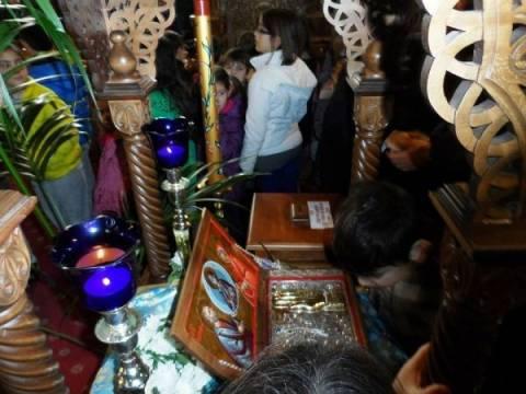 Στην Ορεστιάδα τα λείψανα των θεοπατόρων Ιωακείμ και Άννης
