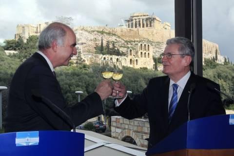 Γεύμα παρέθεσε στον Γερμανό Πρόεδρο ο Ευ. Μεϊμαράκης