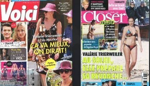Αποζημίωση 12.000 ευρώ στην Τριερβελέρ για τις φωτογραφίες με μπικίνι