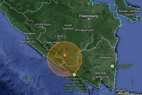 5.3 Richter earthquake in Indonesia