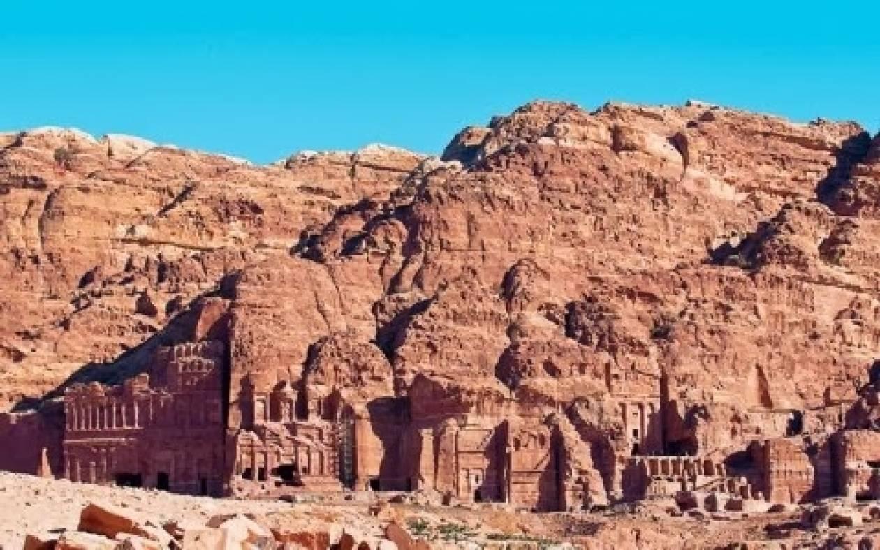 Η αρχαία Ελληνική πόλη της Πέτρας στην Ιορδανία