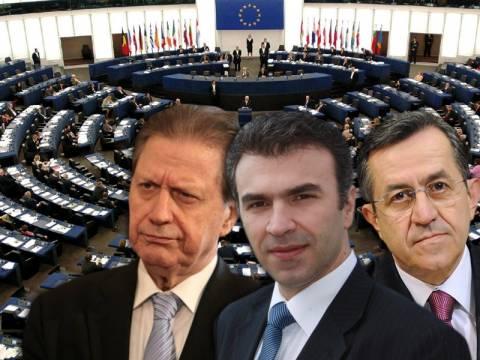 Ευρωψηφοδέλτιο με Βύρωνα, Ζώη, Νικολόπουλο