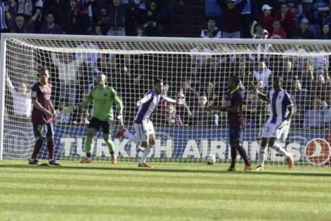 Μπλόκο για τον τίτλο από Βαγιαδολίδ, 1-0 την Μπαρτσελόνα (video)