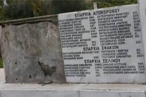 Εικόνες ντροπής σε μνημείο για τα θύματα των ναζί
