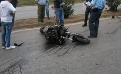 Σύγκρουση δικύκλου με αυτοκίνητο στην Πρέβεζα
