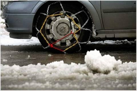 Μόνο με αλυσίδες η κίνηση των οχημάτων στο χιονδρομικό κέντρο Βόρας