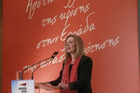 Κοππά-Καστανίδης-Μανίκας στην εκδήλωση της ΔΗΜΑΡ