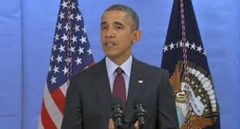 Ομπάμα: Θα σταθούμε στο πλευρό της Ουκρανίας