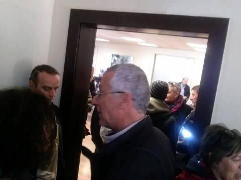 Κατάληψη στο γραφείο του υπουργού Παιδείας (photos)