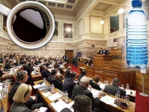 Τέλος ο δωρεάν καφές και το νερό στις Επιτροπές της Βουλής