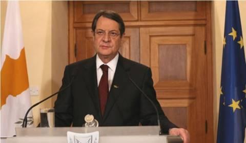 Ο Αναστασιάδης ενημέρωσε για το Κυπριακό το Εθνικό Συμβούλιο