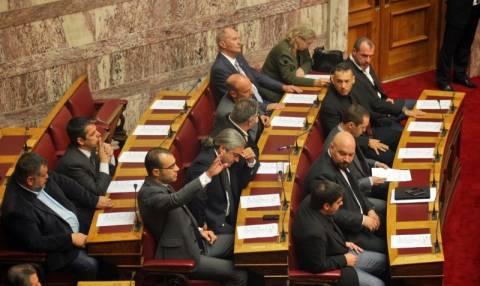 Χρυσή Αυγή: Σε εξέλιξη η συζήτηση για την άρση ασυλίας των βουλευτών