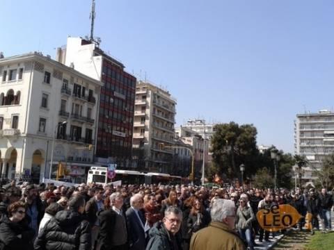 Διαμαρτυρία λογιστών και οικονομολόγων στη Θεσσαλονίκη (pics)