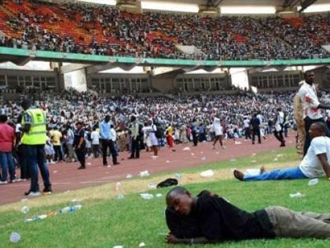 Νιγηρία: Τουλάχιστον επτά νεκροί σε συνωστισμό σε στάδιο