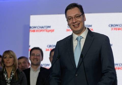 Σερβία: Αυτοδυναμία για το Σερβικό Προοδευτικό Κόμμα στις εκλογές
