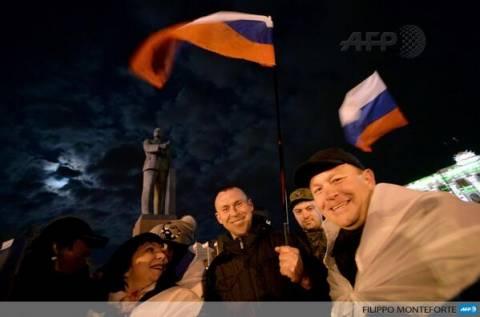 Εγκρίνεται η ένωση της Κριμαίας με τη Ρωσία