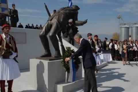 Ύψωμα 731: Έγιναν τα αποκαλυπτήρια του μνημείου πεσόντων