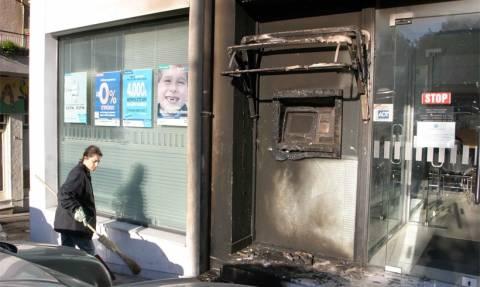 Πάτρα: Εμπρηστικές επιθέσεις σε υποκαταστήματα τραπεζών